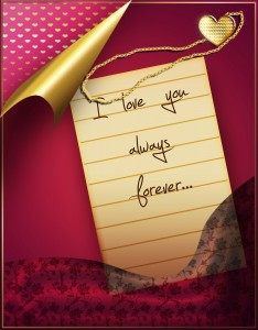 bigstock-Love-letter-with-medallion-28509071