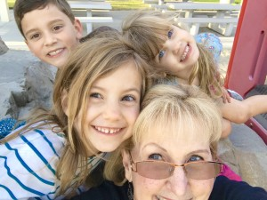 Confessions of an Exhausted Grandmother: Come hear my story about how I learned to lean on Jesus for strength as I hung out with my grandkids all week...it was fun, but exhausting.
